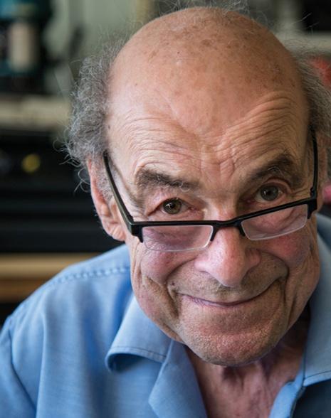 Portrait of Professor Heinz Wolff