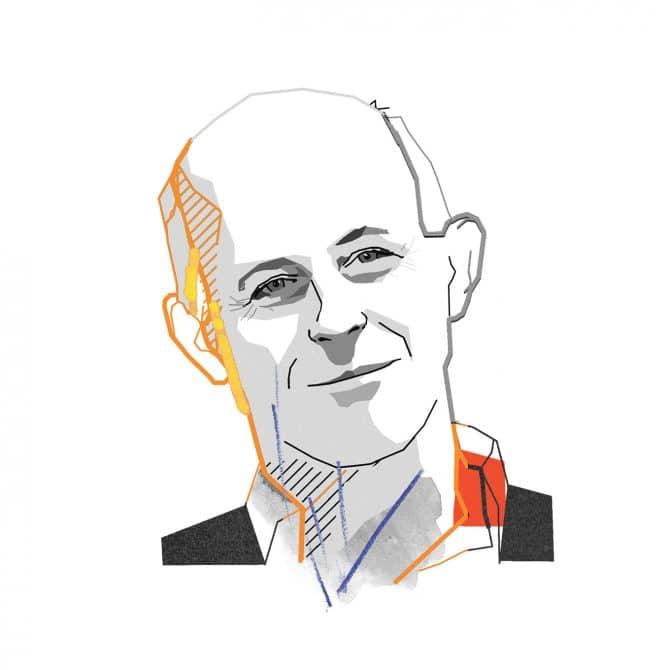 Illustration of a men Neil Cadenhead