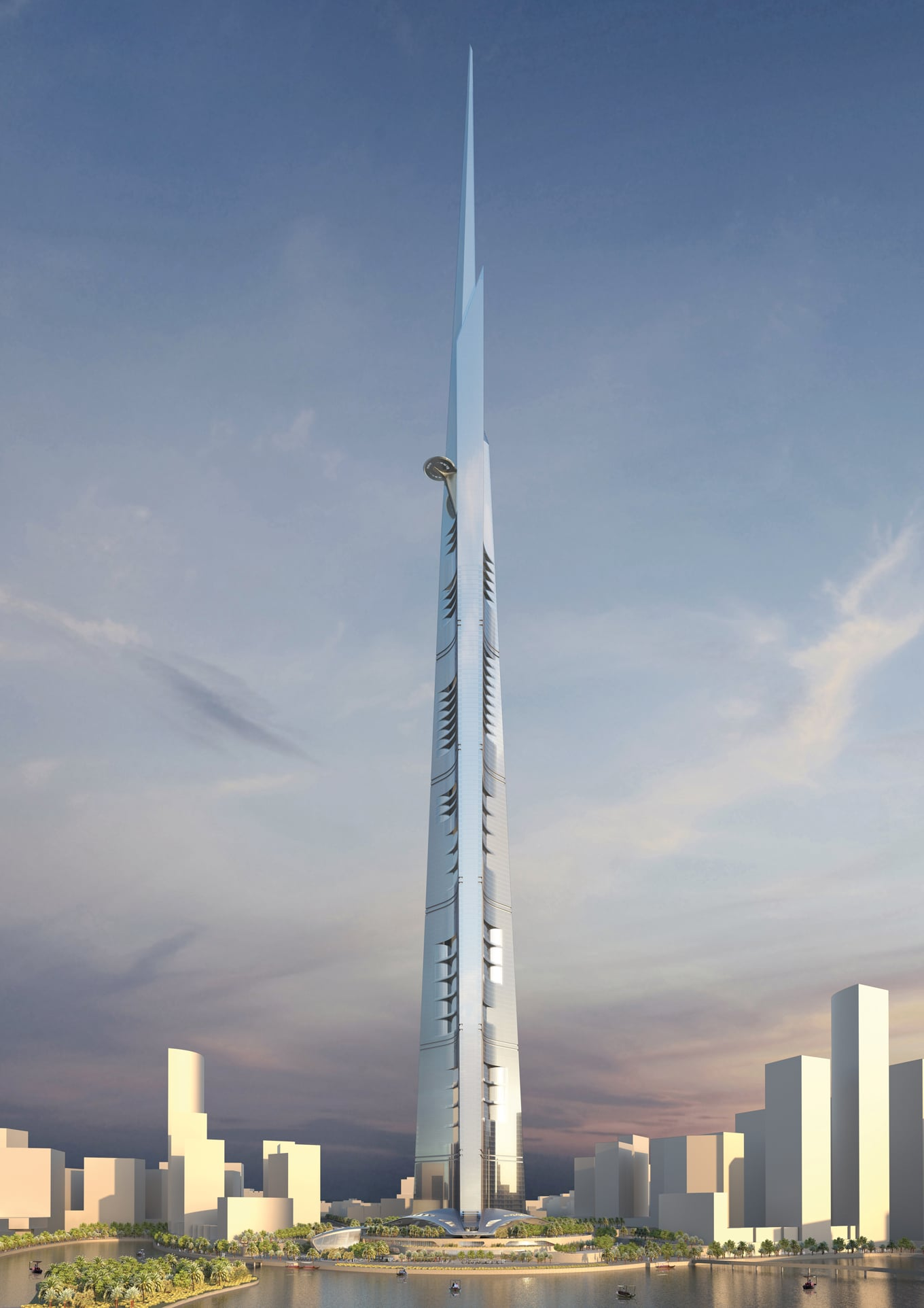 Visualization of the Jeddah Tower