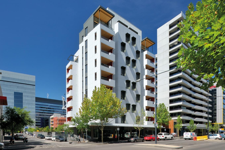 Forte Building in Melbourne- White Facade