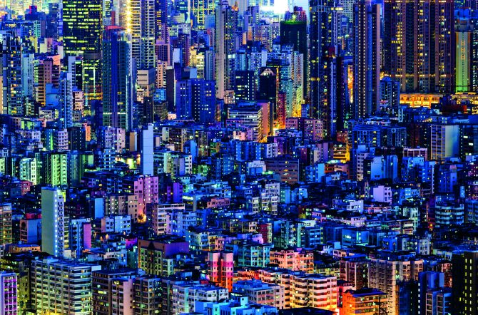 Dense City Buildings