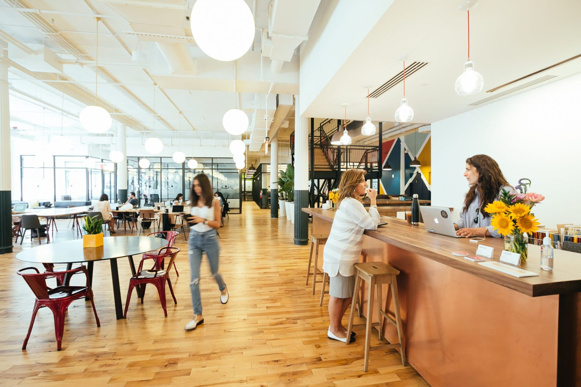 WeWork offices in Chelsea New York