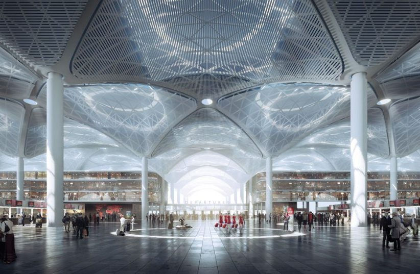 Istanbul New Airport terminal