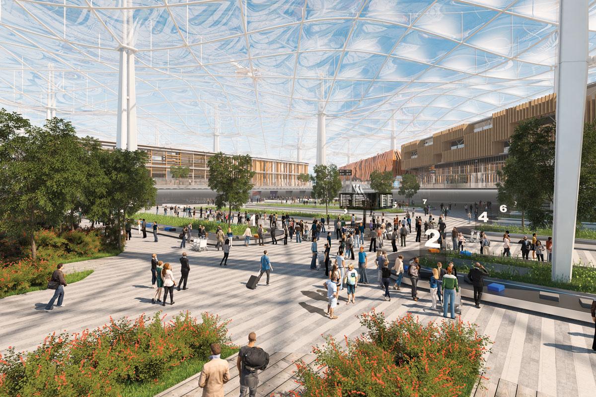 rendering of Heathrow 2030