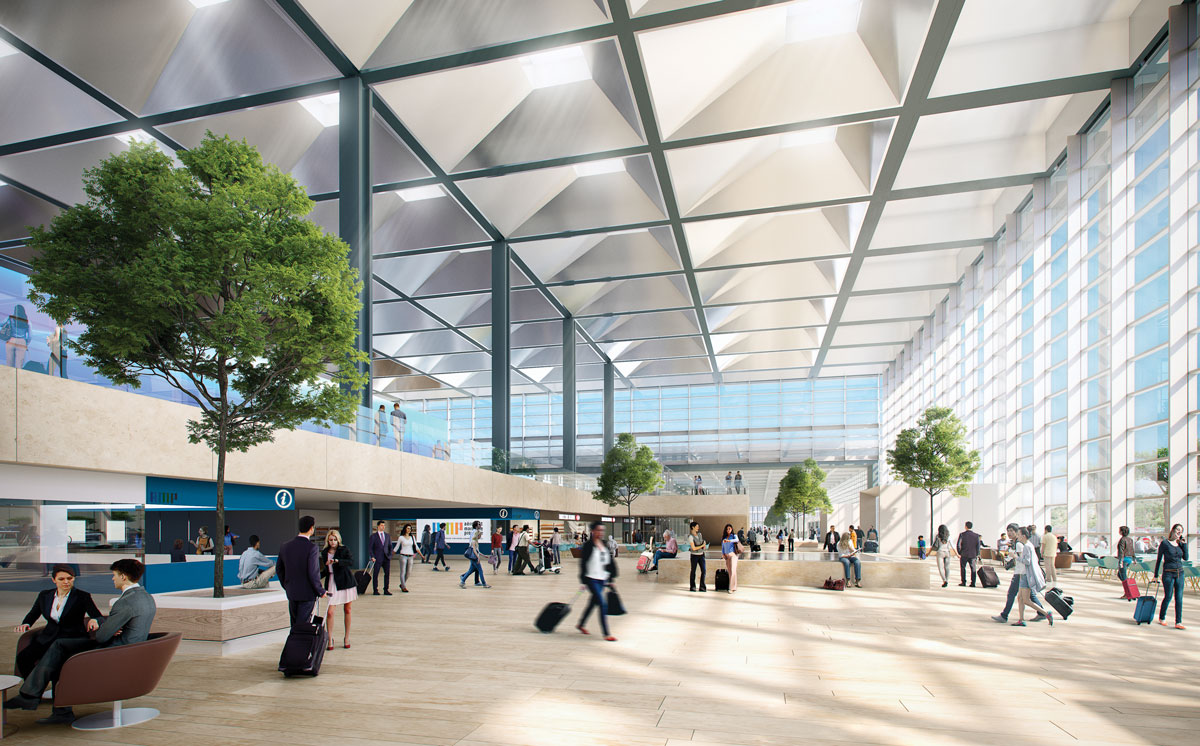 Marseille Airport extension by Foster + Partners