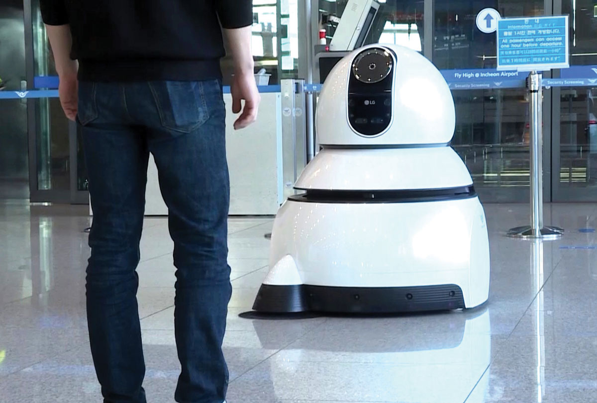 Airport-Cleaning-Robot