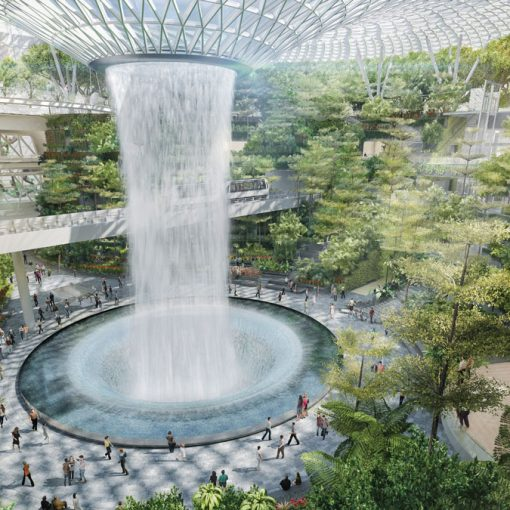 Jewel-Changi-Airport's-magnificent-Forest-Valley