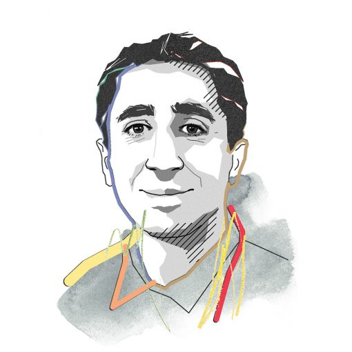 illustration of Mo Sarraf