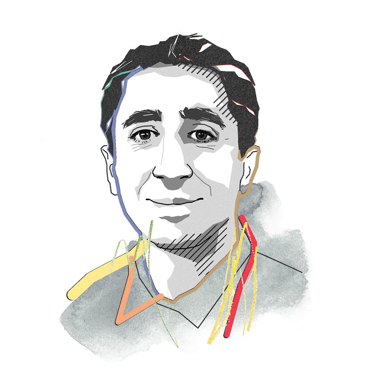 illustration of Mo Sarraf