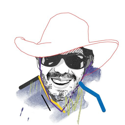 Illustration of Agustin Chevez