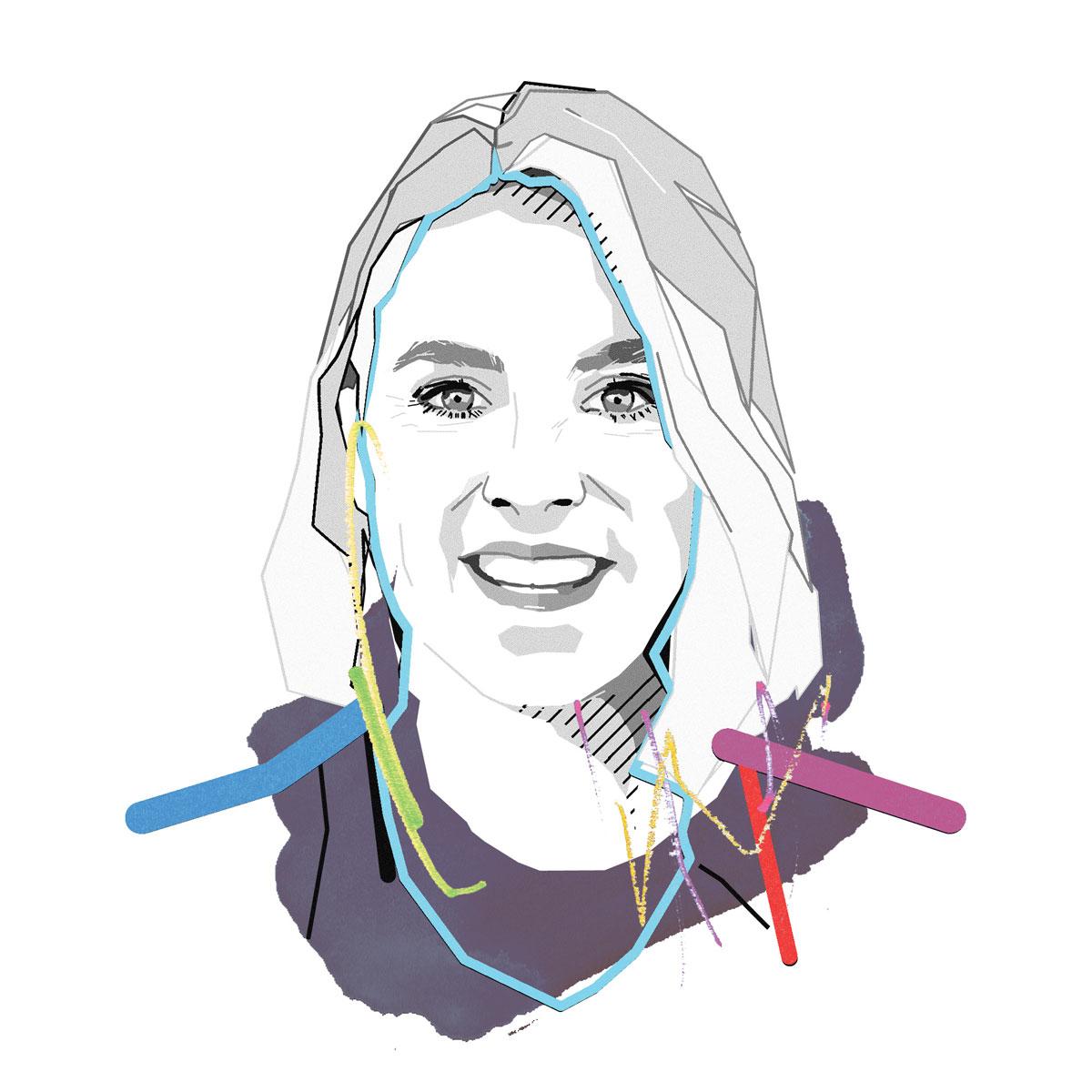 Illustation of Helena Klinstrom