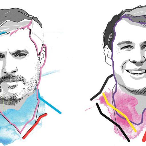 illustration of Narada Golden and Chris Edmonds - WSP