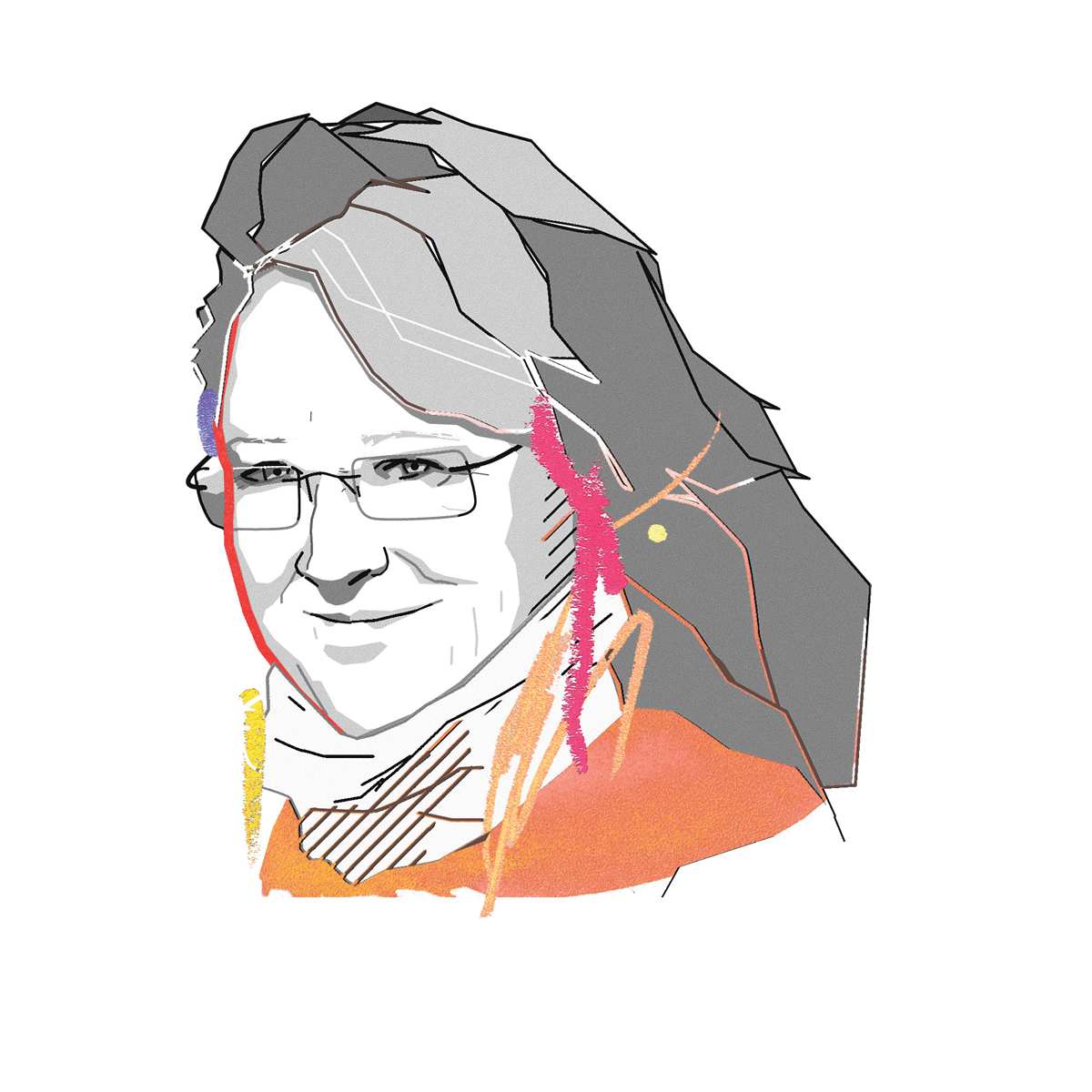 Illustration of Susan Krumdieck