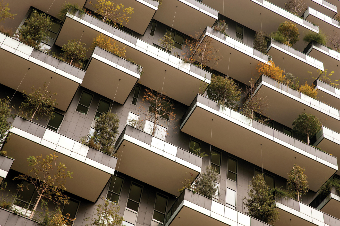 Picture of Stefano Boeri's Bosco Verticale in Milan