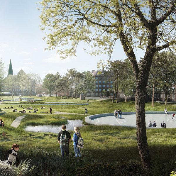 Hans Tavsens Park by SLA