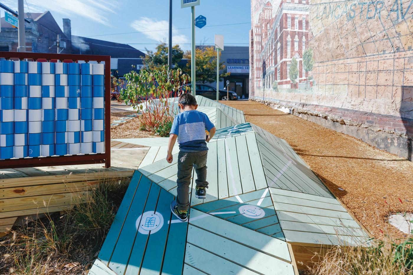 Urban Thinkscape project, West Philadelphia