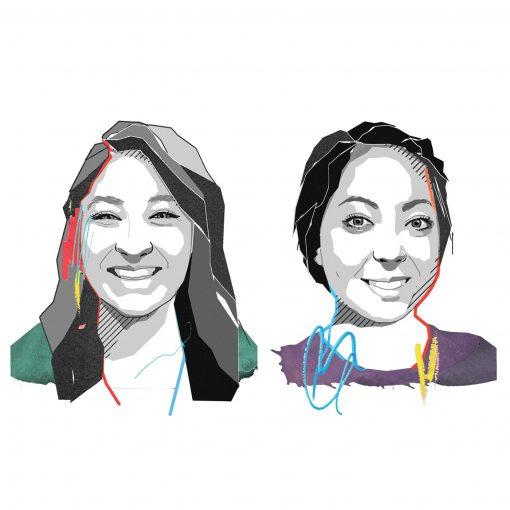 Illustration Yasmin Afshar and Michi McCloskey