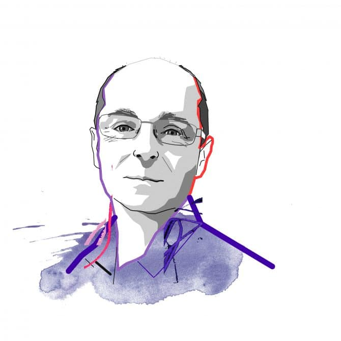 Illustration of Tom Butterworth is technical director for biodiversity and natural capital at WSP in the UK