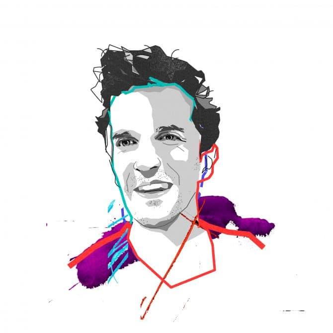 Illustration of Adrien Vogt-Schilb